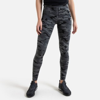 Only Play Cotton Mix Sports Leggings in Camouflage Print