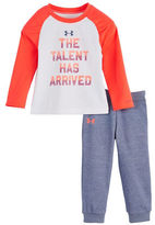 Under Armour Baby Girls Talent Has Arrived Two-Piece T-Shirt and Jogger Pants Set