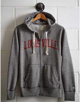 Tailgate Men's Louisville Zip-Up Hoodie