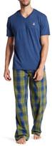 Psycho Bunny Short Sleeve Tee & Lounge Pant Gift Set