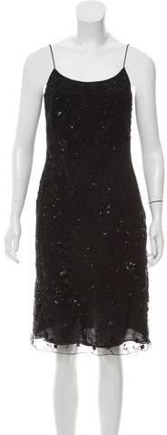 Giorgio Armani Embellished Evening Dress
