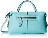 MG Collection Alaia Bowling Shoulder Bag