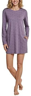 Schiesser Women's Sleepshirt 1/1 Arm, 90cm Nightie, (Grey 200)