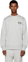Y-3 Grey Classic Logo Sweatshirt