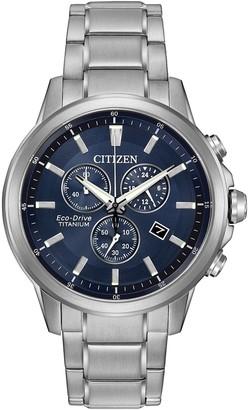 Citizen Men's Eco-Drive Titanium Bracelet Watch, 42mm