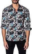 Jared Lang Graphic Print Shirt