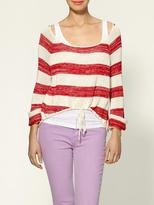 Darlena Stripe lt Sweater