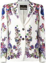 Roberto Cavalli Giacca blazer - women - Cotton/Spandex/Elastane/Viscose - 44