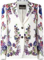 Roberto Cavalli Giacca blazer - women - Cotton/Spandex/Elastane/Viscose - 50