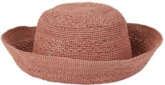 Helen Kaminski Raffia Turn-Up Sun Hat