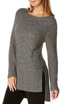 Rafaella Long Sleeve Lurex Pullover