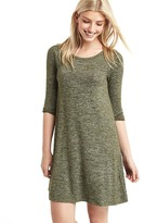 Gap Softspun knit raglan t-shirt dress