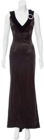 Dolce & Gabbana Embellished Evening Dress