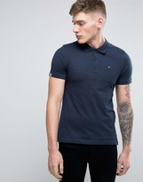 Jack and Jones Originals Polo Shirt with Embroided Chest Logo