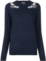 Markus Lupfer embellished bird sweater