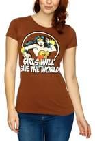 Logoshirt V DC - Wonder Woman - GWSTW Logo Women's T-Shirt