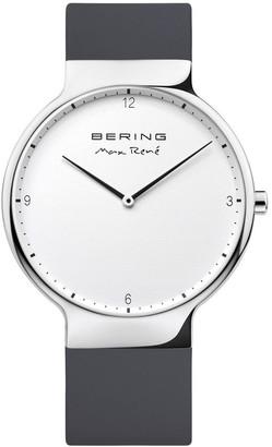 Bering Max Rene 15540-400 Silicone Strap Black Watch
