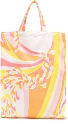 Emilio Pucci Lily pattern tote bag