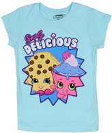 Shopkins Little Girls' Kooky Cookie and Cupcake Chic Tee