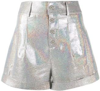 Philipp Plein Iridescent Tailored Shorts