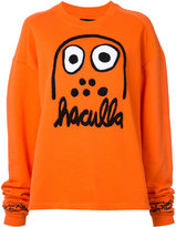 Haculla logo extended sleeve top