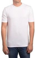 Ermenegildo Zegna Z Zegna By Men Blank T-shirt White Grey.