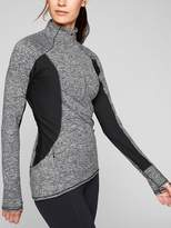 Athleta Colorblock Running Wild Half Zip
