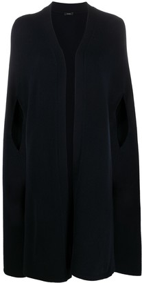 Joseph Mid-Length Cape Cardigan