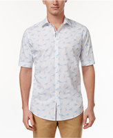 Club Room Men's Graphic-Print Shirt, Only at Macy's