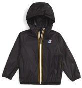 K-Way Infant 'Claude 3.0' Hooded Waterproof Windbreaker Jacket