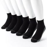 Dickies Men's 6-pk. Dri-Tech Comfort Moisture-Control Quarter Crew Socks