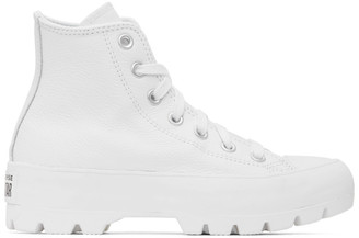 Converse White Chuck Lugged High Sneakers