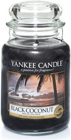 Yankee Candle Classic Housewarmer Large, Black Coconut, Scented Candle, Room Scent in Glass / Jar, 1254003E