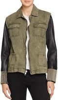 Signorelli Mixed Media Army Jacket