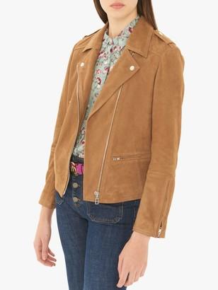 Gerard Darel Ornella Leather Garment, Brown