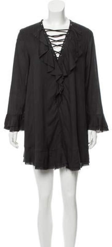 IRO Florine Mini Dress w/ Tags Black Florine Mini Dress w/ Tags
