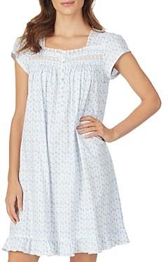 Eileen West Short Floral Nightgown
