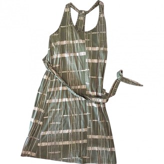 Patagonia Green Cotton Dress for Women