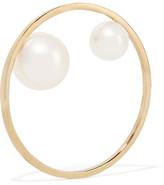 Sophie Bille Brahe Yoko 14-karat Gold Pearl Ring - 52