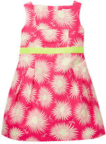 Milly Minis Seamed Pleated Dress (Little Girls)