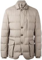 Loro Piana zip up padded jacket