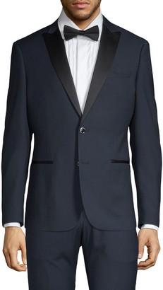 Saks Fifth Avenue Nhp Extra Slim-Fit Peak Lapel Tuxedo Jacket
