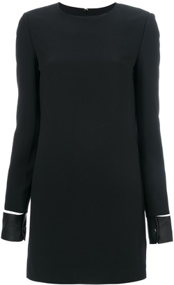 Helmut Lang Leather Cuff Mini Dress