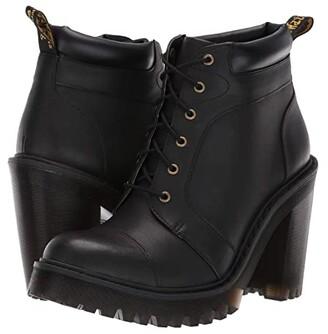 Dr. Martens Averil Seirene (Black Sendal) Women's Boots