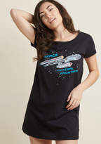 ModCloth Dream Me Up, Scotty Cotton Nightgown in M