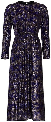 Rachel Comey Astraea Sequin Long Sleeve Dress