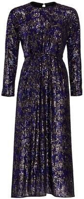 Rachel Comey Astraea Sequin Long Sleeve Dress