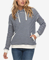 Roxy Juniors' Cotton Striped Hoodie