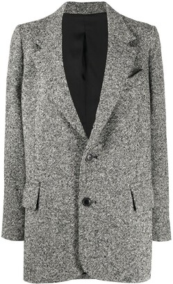 Ami Single-Breasted Blazer