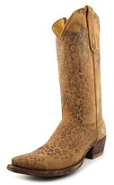 "Old Gringo Leopardito 13"" Women Pointed Toe Leather Western Boot."